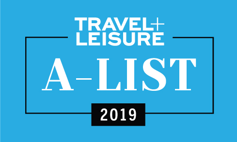 Travel and Leisure, A-List 2019