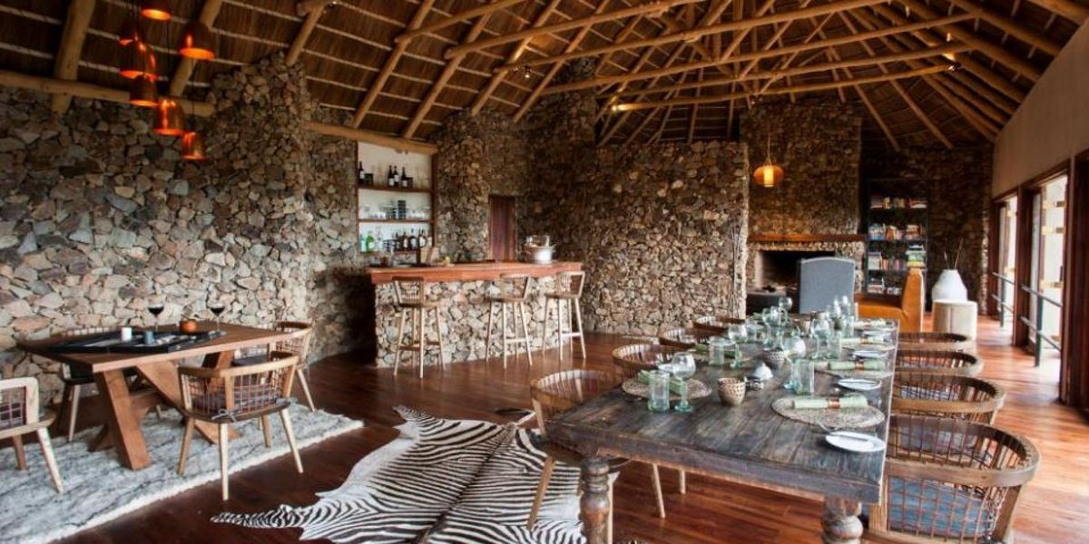 Mwiba Lodge Dining Room